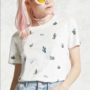 Forever 21 Cactus shirt